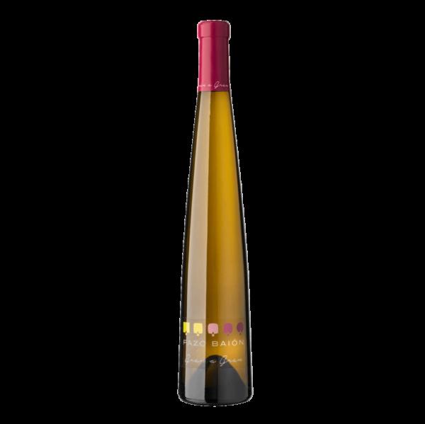 botella de vino albariño pazo baion gran a gran