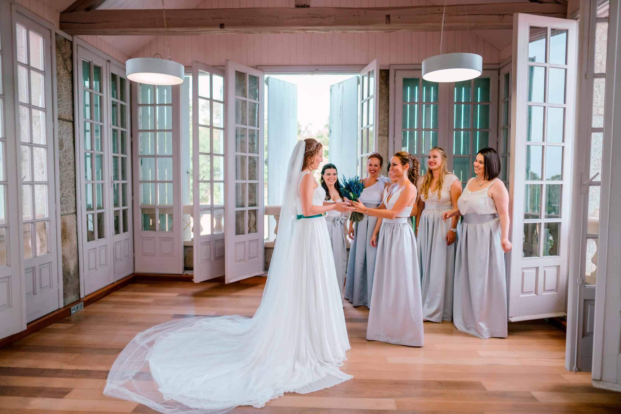 bodas en pazo baion