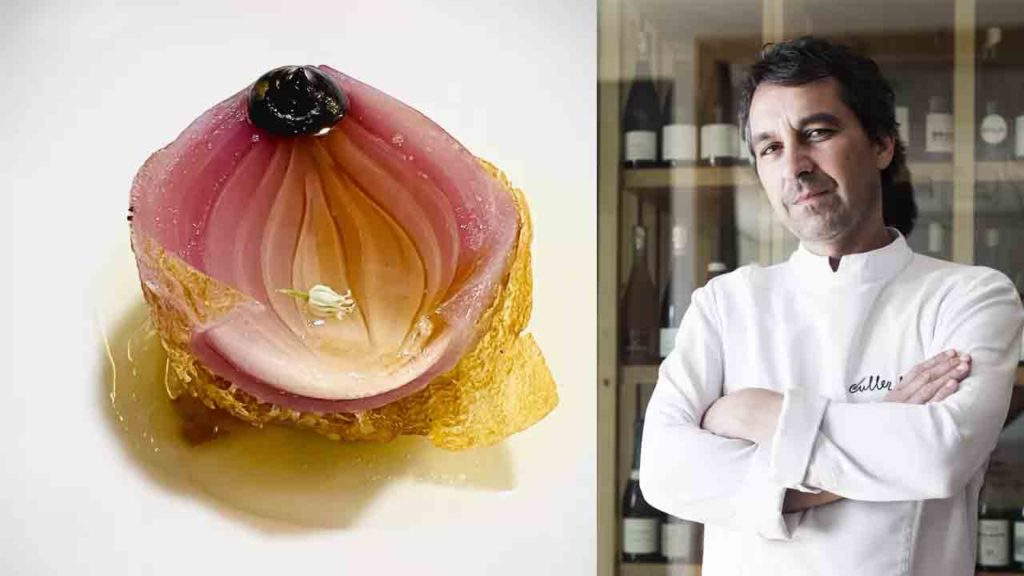 La cebolla de Javi Olleros es un clásico del Culler de Pau