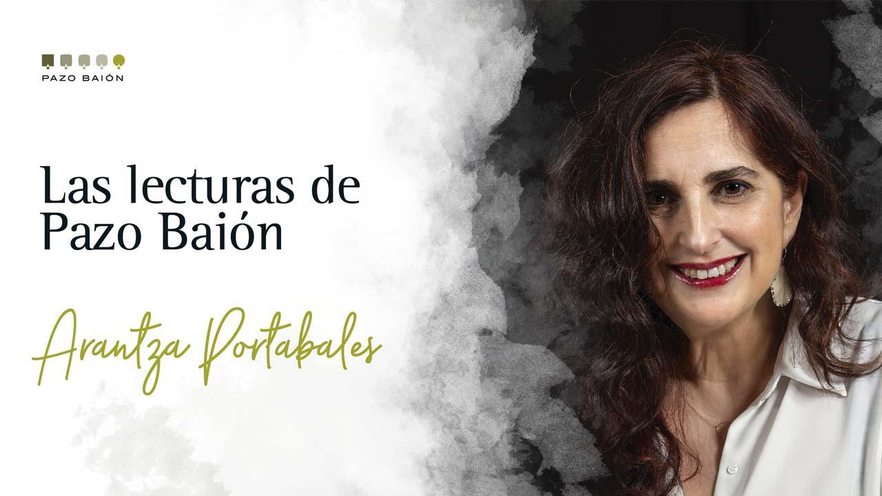 Arantza Portabales estrena Las Lecturas de Pazo Baión con 3 libros