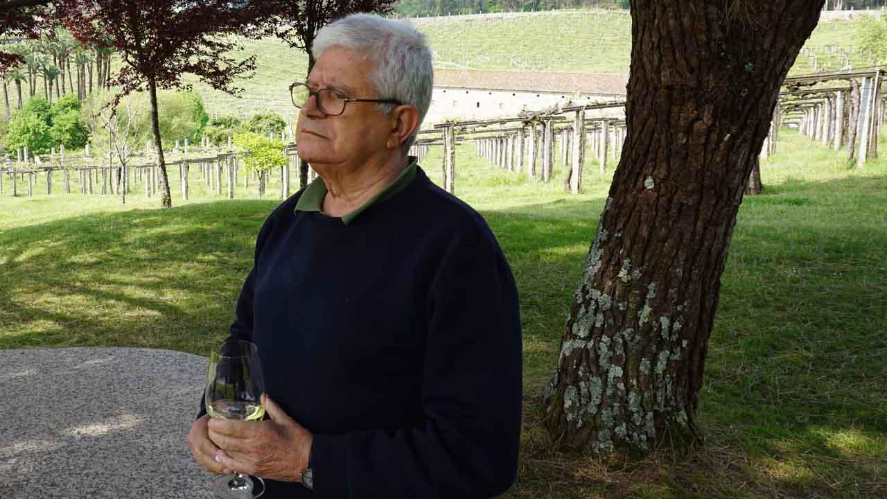 César Portela es el creador de la arquitectura de Pazo Baión
