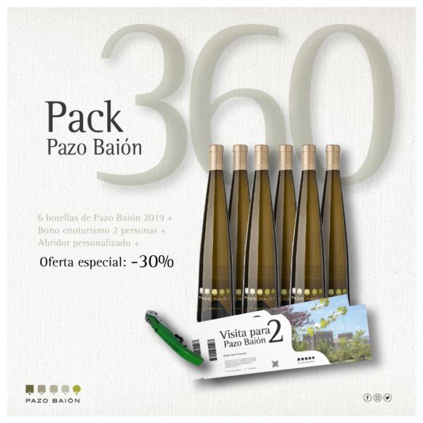 Pack Pazo Baión 360