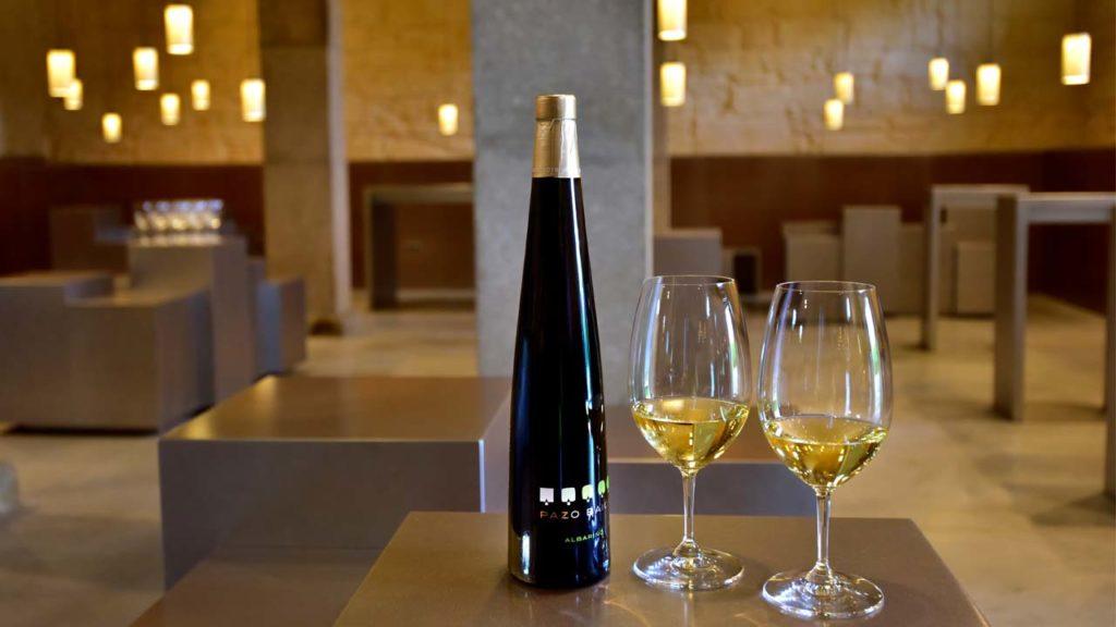 José Hidalgo participou na elaboración dos viños de Pazo Baión