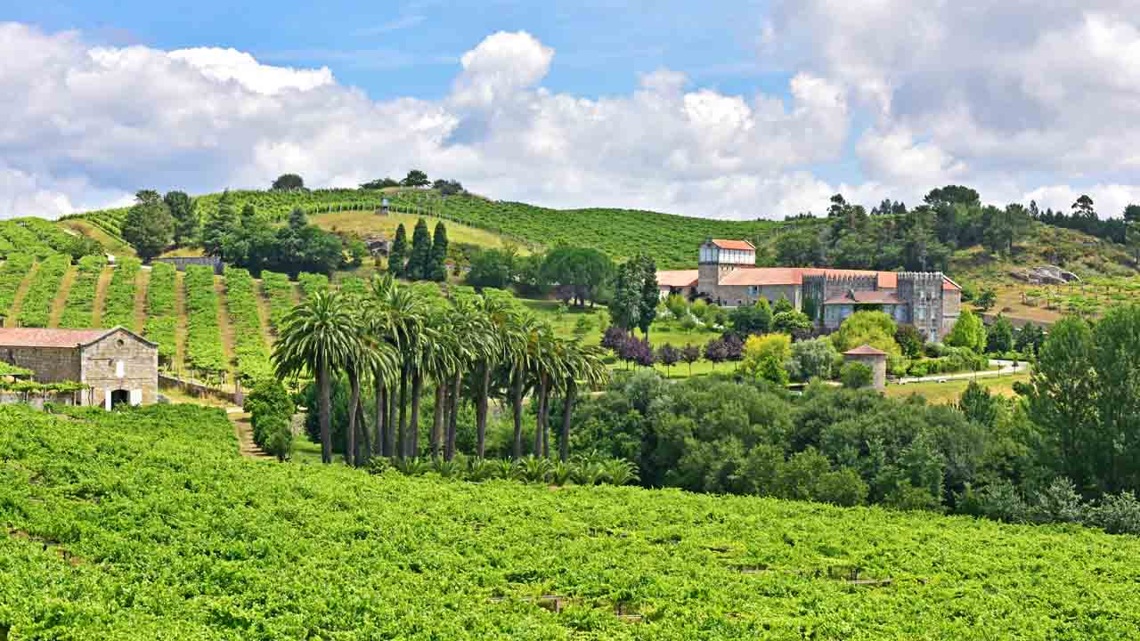 The history of Pazo Baión goes back five centuries.